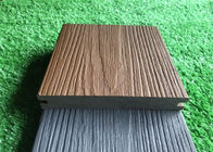 Durable Co Extrusion Wpc Decking , Bamboo Plastic / Wood Polymer Composite Decking